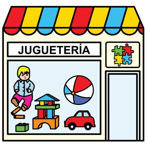Pictogramas ARASAAC - Juguetería.