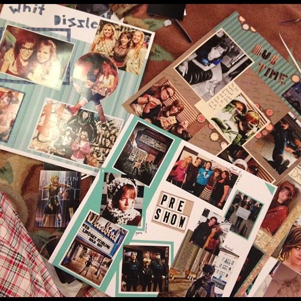 I got added into Lindsey's Scrapbook!   #LindseyStirling