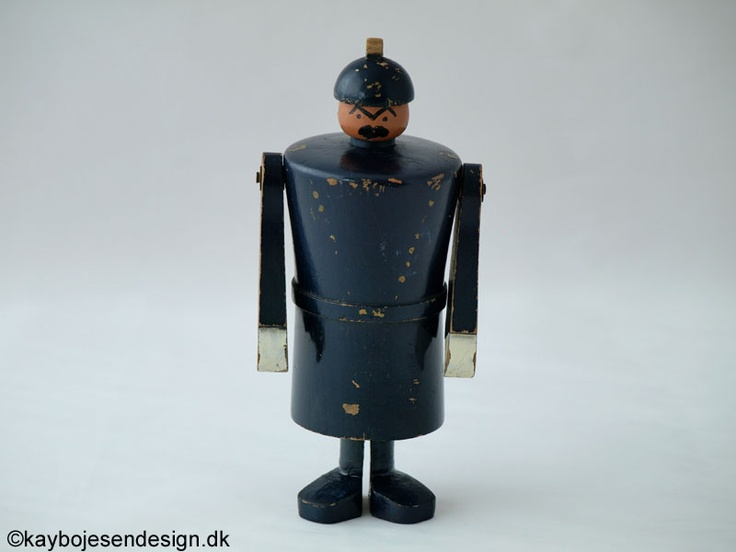 Kay Bojesen - Chubby policeman, early Kay Bojesen piece