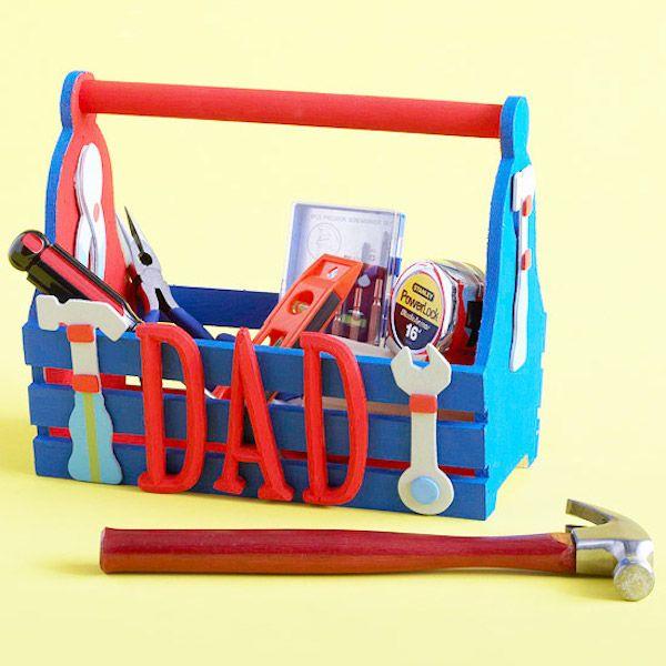 caja de herramientas casera