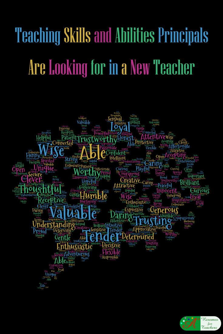 "When writing your new teacher resume for your first year teaching, it is important to target the intended audience. Typically this is the school principal. Teacher looking for a new position often ask me, ""What are school administrators looking for in a teacher?"" @candacedavies1"