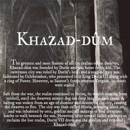 Ruins of Middle-earth: Khazad-dûm