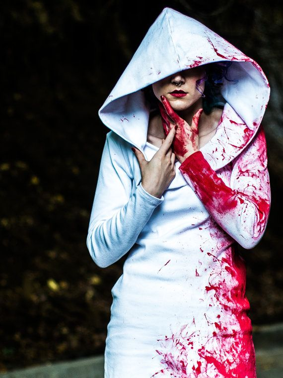 Idea for blood-splattered costume