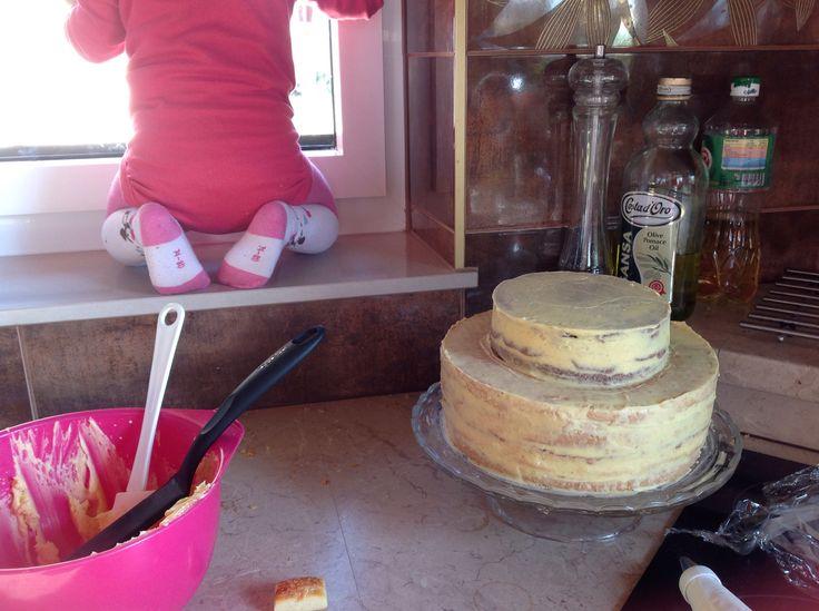 In time cake