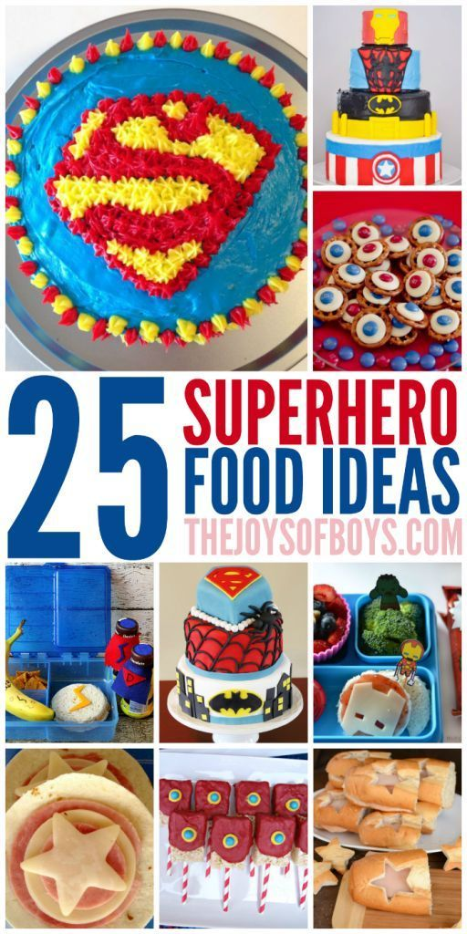 25 Superhero Food Ideas Anyone Can Make from Home | Post