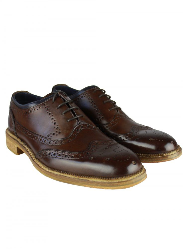 Goodwin Smith ton Wedge Derby Mens Brogue Shoes AND COLOURS