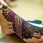 New Bridal Mehndi Designs 2014