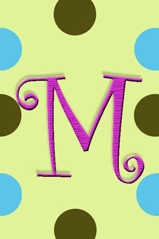 View Bigger Monogram M Live Wallpaper For Android Screenshot