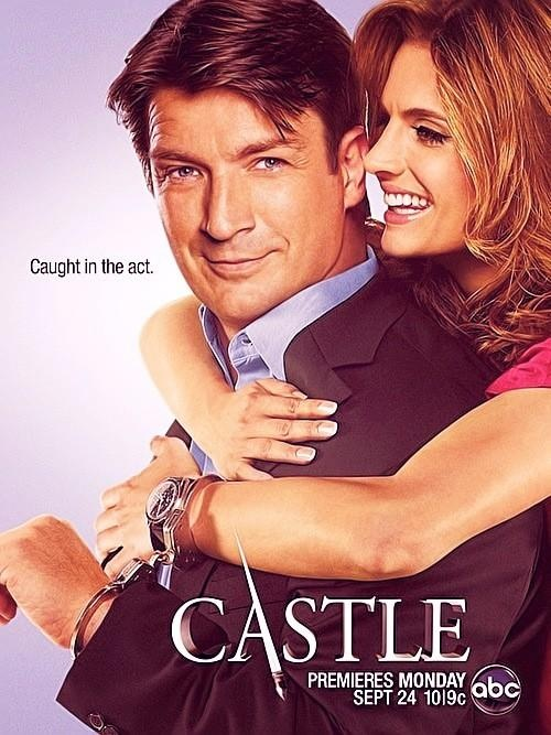 #Castle Season 5 | OHMYGOD I need September 24th now. btw, can Stana be any more perfect?