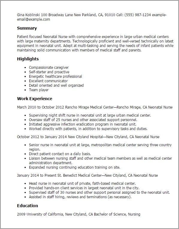 Resume Medical Resume Template Sample Resume Templates Business Resume Template