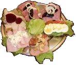 Open Sandwich Platter.