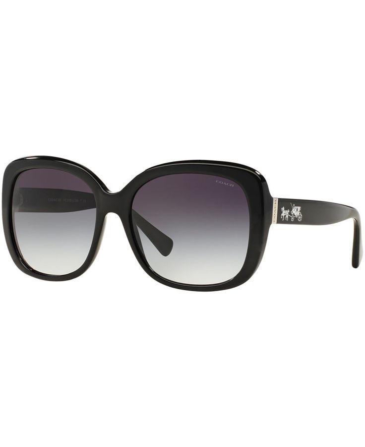 Coach Sunglasses, COACH HC8158 58 L139 - Sunglasses by Sunglass Hut - Handbags & Accessories - Macy's