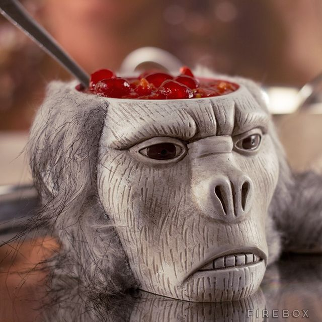 A Creepy Monkey Brain Bowl That You Can Eat Out Of Inspired by 'Indiana Jones and the Temple of Doom'