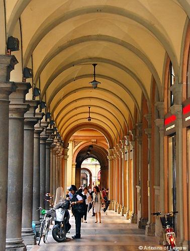 Portico in Bologna.