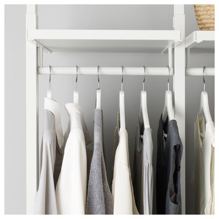 IKEA - ELVARLI Clothes rail white