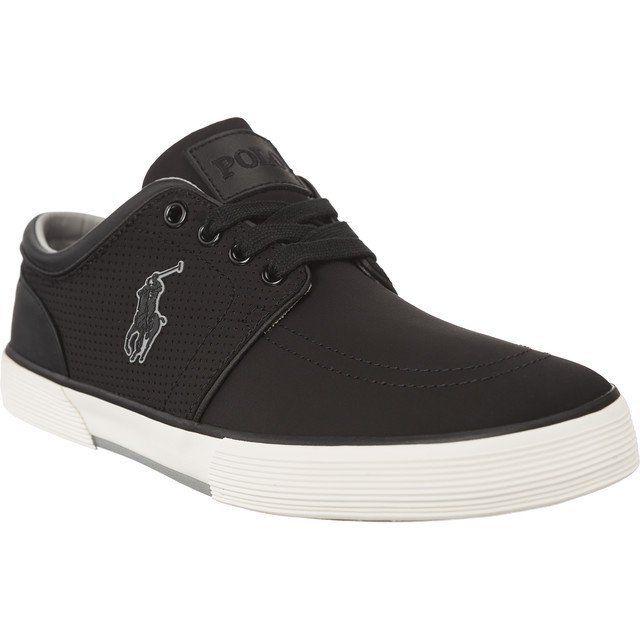 Polbuty Meskie Poloralphlauren Czarne Polo Ralph Lauren Faxon Low 816664670001 Polo Ralph Lauren Sneakers Dc Sneaker