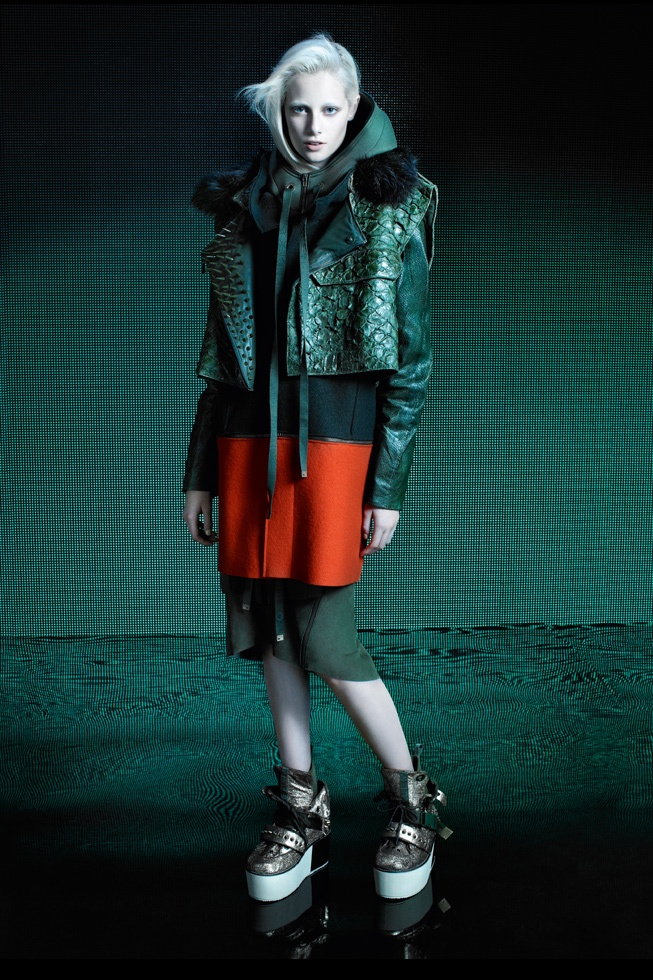Lovely total look, i need the boots! / F|W 2012 - Campaign