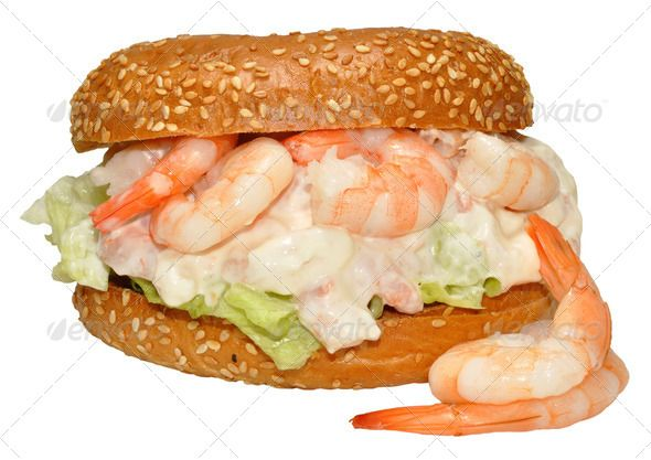 Realistic Graphic DOWNLOAD (.ai, .psd) :: http://jquery-css.de/pinterest-itmid-1006676359i.html ... Prawn Bagel Sandwich ...  Sesame Seeds, background, bagel, diet, food, iceberg, isolated, lettuce, lunch, mayo, mayonnaise, nutrition, prawn, prawns, sandwich, seafood, shellfish, snack, tasty, white  ... Realistic Photo Graphic Print Obejct Business Web Elements Illustration Design Templates ... DOWNLOAD :: http://jquery-css.de/pinterest-itmid-1006676359i.html