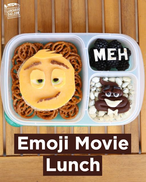 How to make an Emoji Movie lunch for your kids!