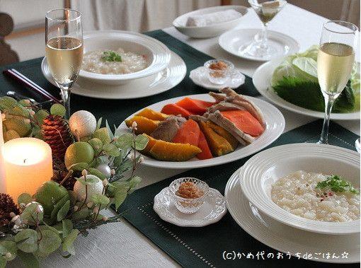 まねしたい!素敵☆クリスマステーブルコーディネートまとめ | レシピブログ - 料理ブログのレシピ満載!