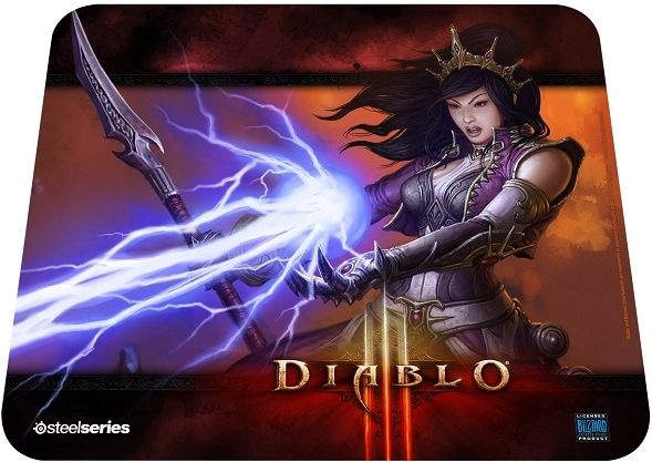 SteelSeries QcK Diablo III Wizard Edition
