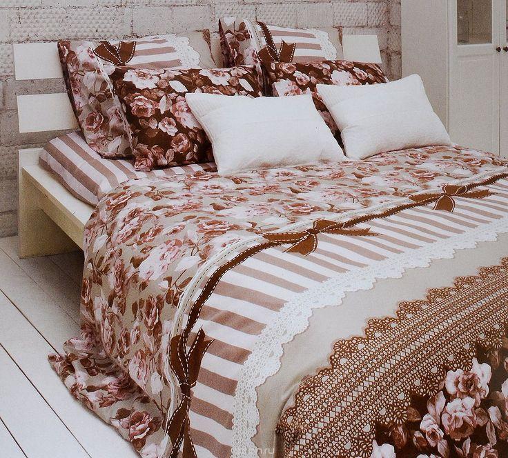 Комплект белья Tiffanys Secret Шоколадный этюд, евро, наволочки 50х70, цвет: розовый, коричневый, белый2040815185Комплект постельного белья Tiffanys Secret Шоколадный этюд является экологически безопасным для всей семьи, так как выполнен из сатина (100% хлопок). Комплект состоит из пододеяльника, простыни и двух наволочек. Предметы комплекта оформлены оригинальным рисунком. Благодаря такому комплекту постельного белья вы сможете создать атмосферу уюта и комфорта в вашей спальне. Сатин - это…