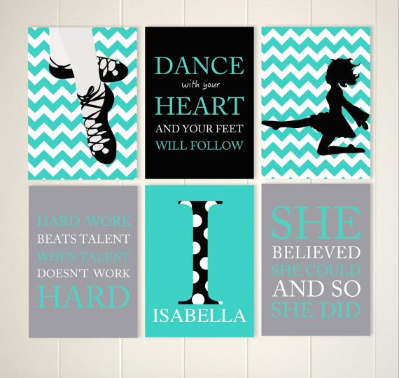 Dance with your heart Irish dance art Irish by PicabooArtStudio