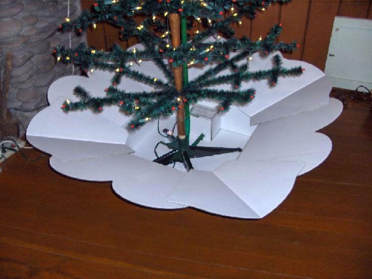 tree snow machine