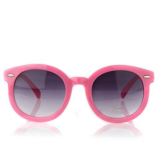 Hana's Vintage Style Fashion Pink Baby Sunglasses