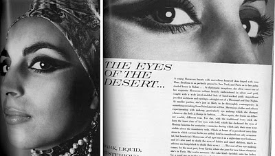 From the Vogue Archives  Style Icon Madame Benhima, Rabat, Morocco (The Eyes of the Desert)  Vogue, September 1969
