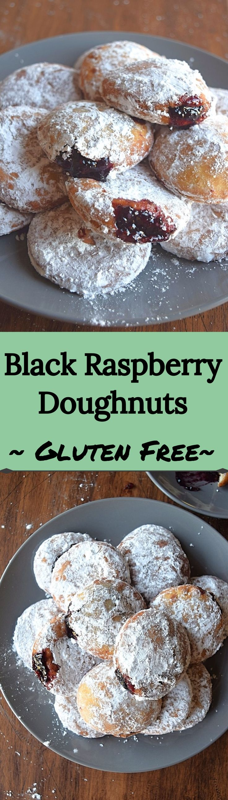 Black Raspberry Jelly Doughnuts – A Stray Kitchen