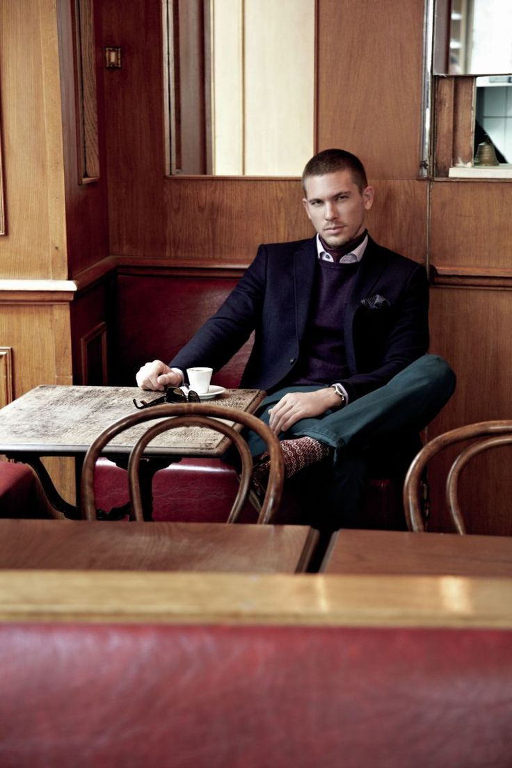 Adam Senn Fascinates in Nexts Winter 2012 Campaign