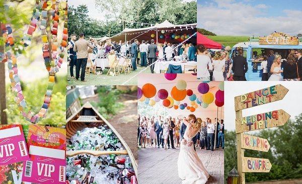 20 tips voor het organiseren van een festival bruiloft - www.bruiloftinspiratie.nl