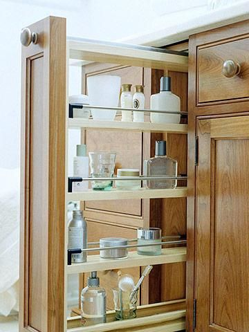17 best images about bathroom organization on pinterest caulking tips toilets and pottery - Small space shelves concept ...