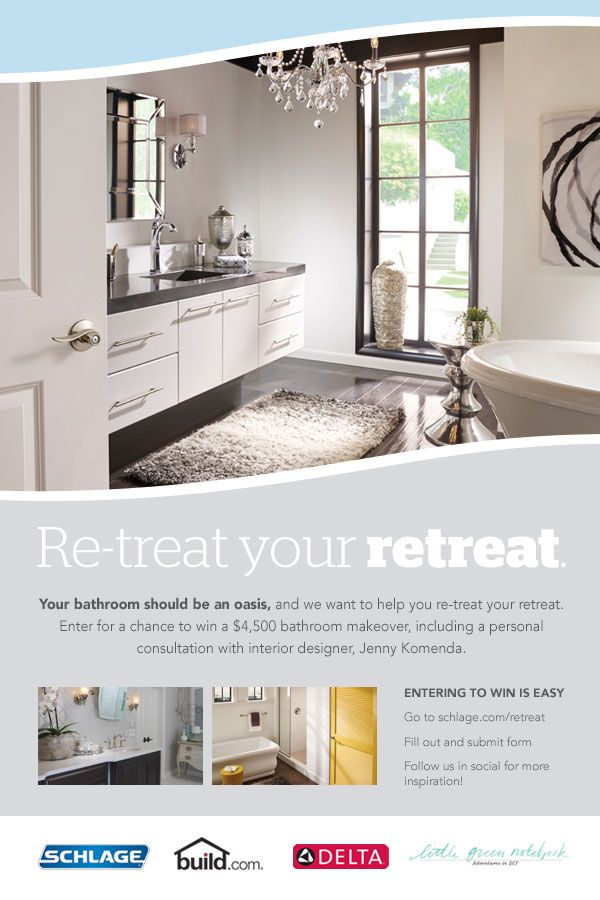 Bathroom Makeover Sweepstakes 117 best re-treat your retreat images on pinterest | bathroom