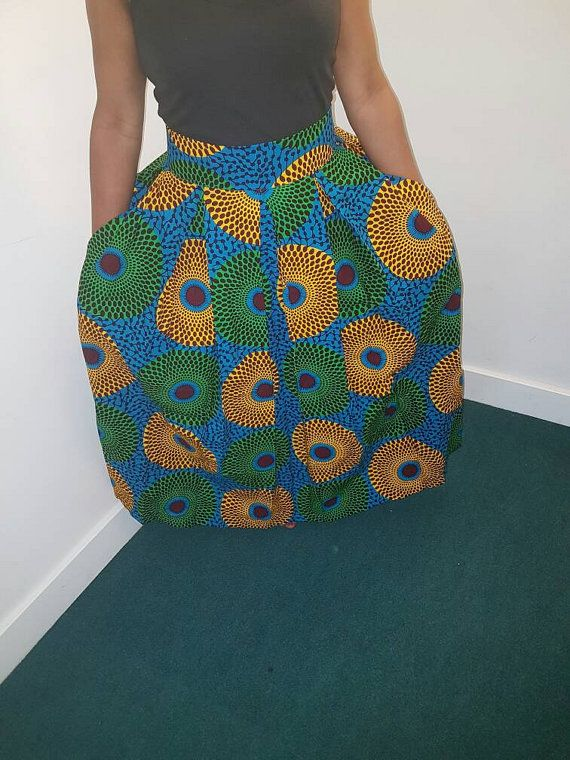 how to make a box pleated circle skirt