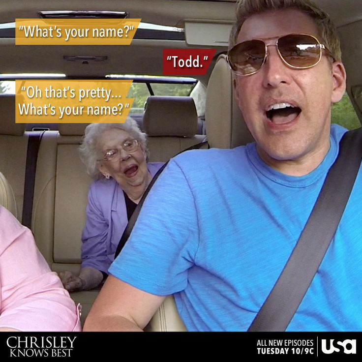 Chrisley Knows Best! This is like the best show ever.