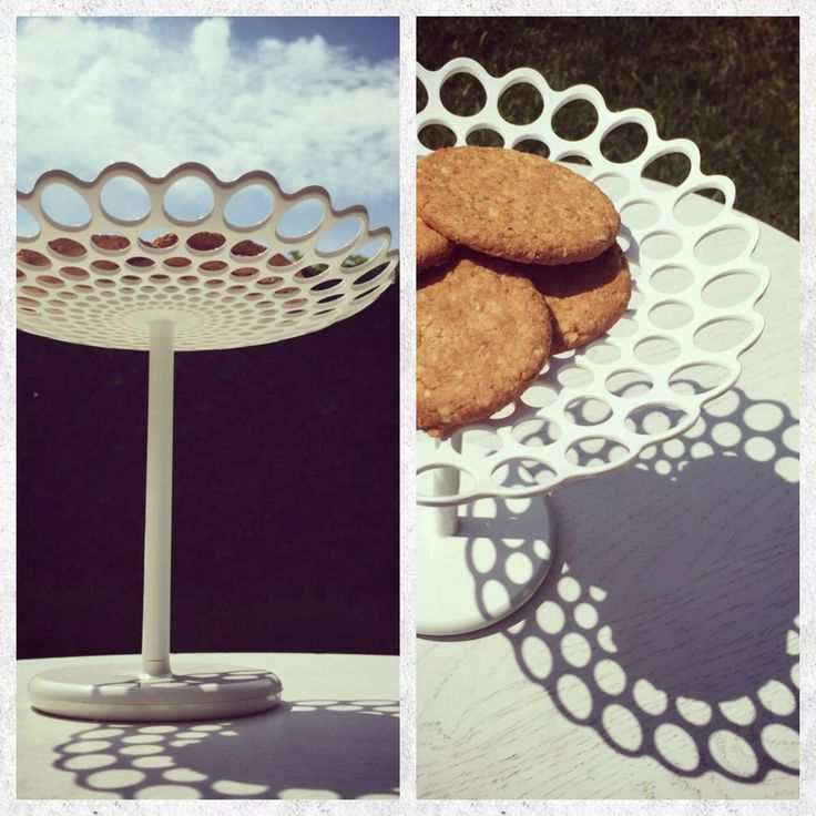 Checkout 'Castelli - Cirri Cookie - De Gustibus Collection on Eksturstore.com: Based on the historical piece in silver from 1991 for Sambonet Italy. Holds tarts and cookies. Made of ABS plastic. Wipe clean with damp non-abrasive cloth.