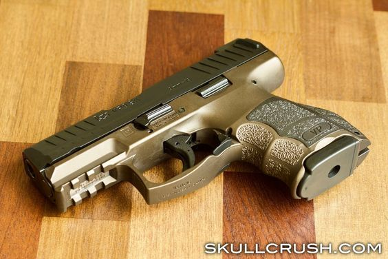 HK VP9SK LE Midnight Bronze Cerakote | Guns | Guns, Hand guns, Pink guns