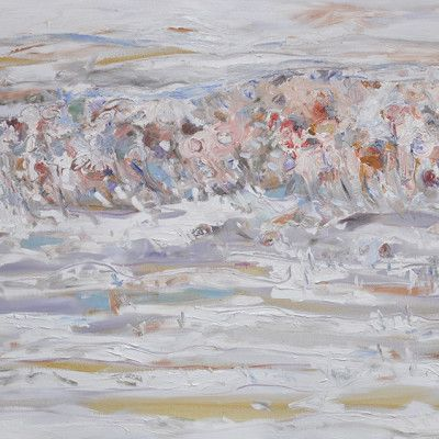 Spalding - Stanley's Gorge, Oil on Linen 1525x1220mm  $6,500 Stanley Street Gallery