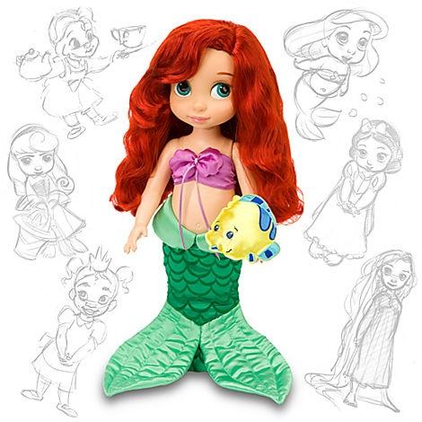 Disney Animators' Collection Ariel Doll - 16'' | Dolls | Disney Store | $24.50