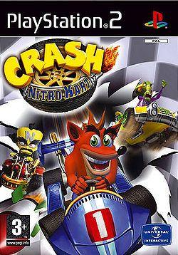 Crashnitrokart , huom! Kuvasta poiketen (perus)XBOXille!
