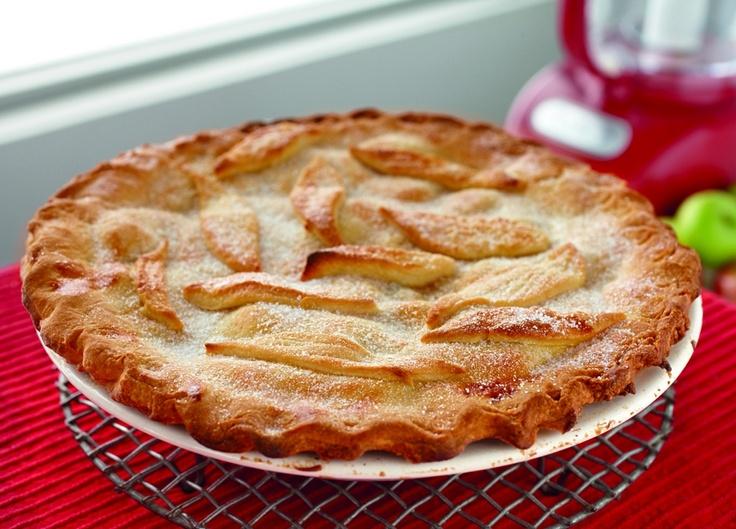 Traditional Deep Dish Apple Pie