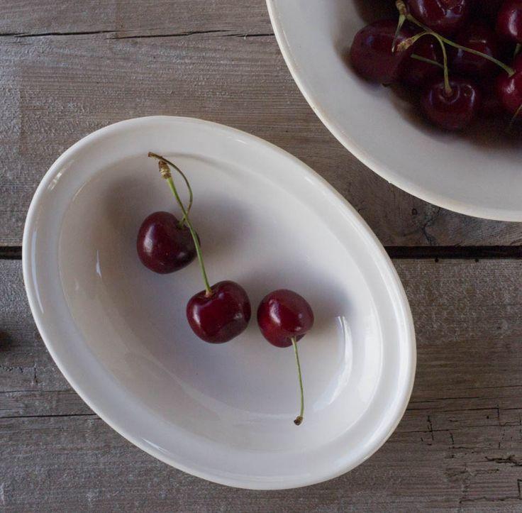 Cherries in a vintage Figgjo bowl
