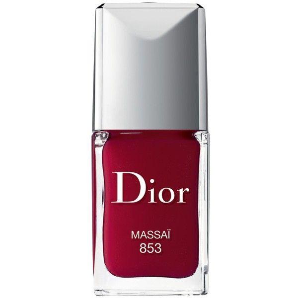 Dior Vernis Nail Polish, The Essentials, Massai 853 found on Polyvore
