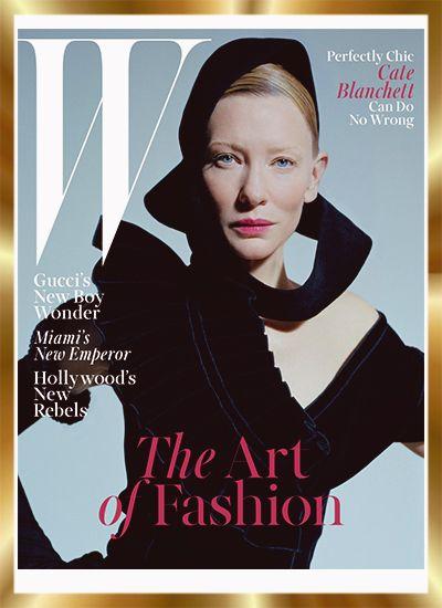 Το τεύχος Δεκεμβρίου είναι πάντα ξεχωριστό για όλα τα έντυπα περιοδικά και το W Magazine επέλεξε μία από τις εντυπωσιακότερες ηθοποιούς του Χόλιγουντ για να κοσμήσει με την avant garde παρουσία της το εν λόγω cover. Η Cate Blanchett, φωτογραφημένη από τον Tim Walker μεταφέρει τις δικές της εικόνες από τον Μικρό Πρίγκιπα του Antoine de Saint-Exupéry, μιλώντας για το πόσο σημαντικά είναι τα κοστούμια και οι μεταμφιέσεις στις ταινίες όπου πρωταγωνιστεί! http://pressmedoll.gr/