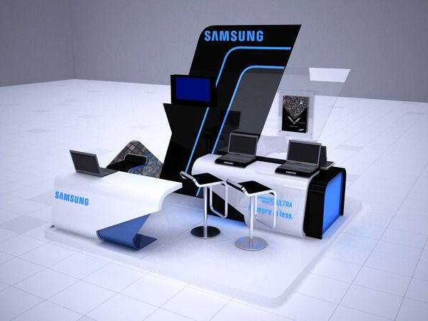 Samsung ultrabook by ahmad arty, via Behance