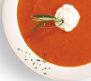 This soup is wonderful as the first course to an elegant dinner, or as a light dinner on its own served with hearty bread.