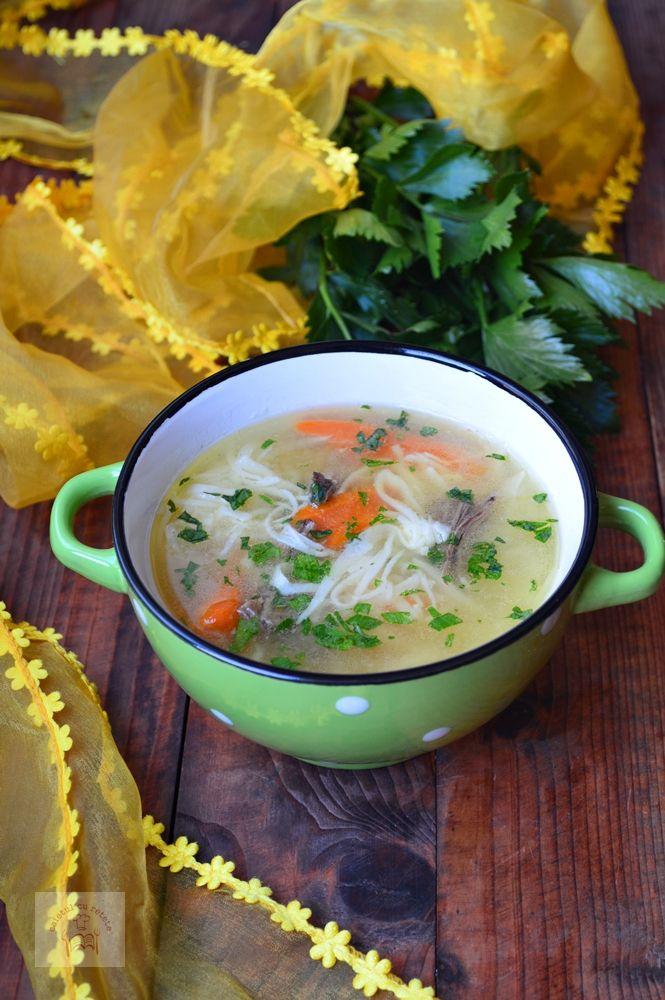 Supa de rata cu taitei