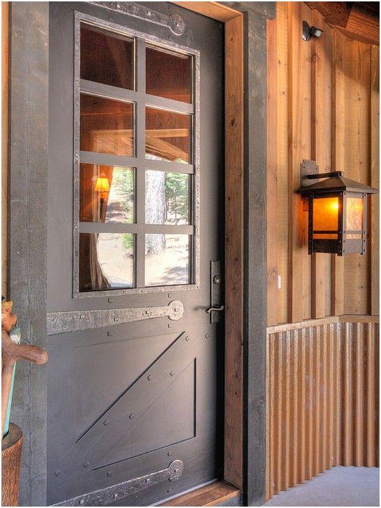 rustic exterior doors google search